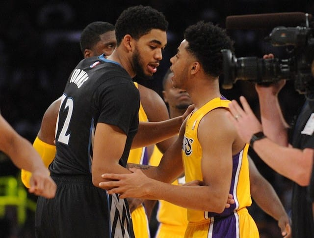 Karl-Anthony Towns D'Angelo Russell