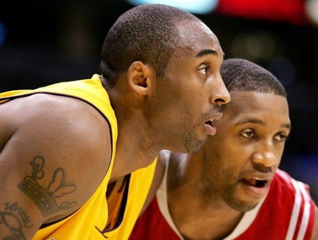 Kobe Bryant and Tracy McGrady