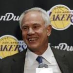 Mitch Kupchak, Lakers, Hornets