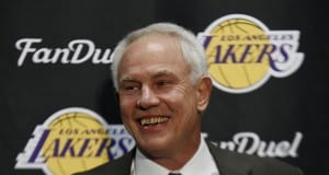 Mitch Kupchak, Lakers, Hornets