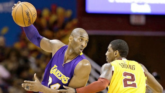 Kobe Bryant Kyrie Irving