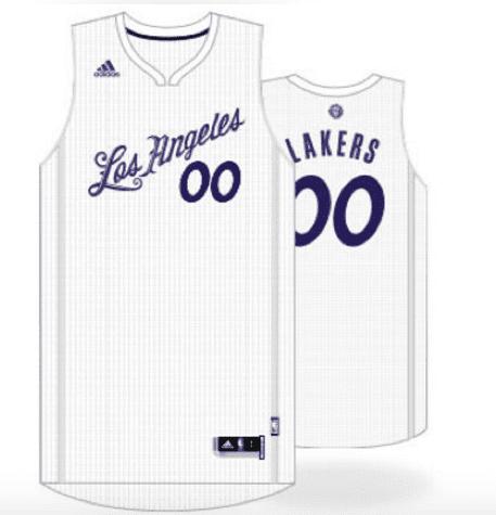 Lakers Christmas Jerseys