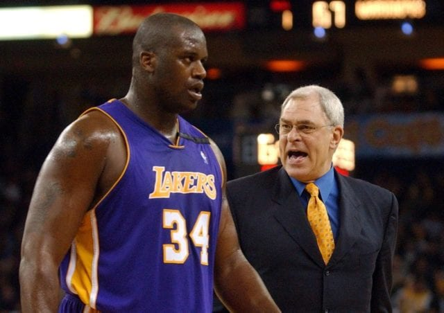 Phil Jackson Played Shaquille O'Neal 48 Minutes A Game To Get Him Into...