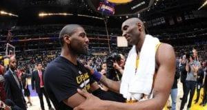 Kobe Bryant Kyrie Irving Lakers Cavaliers