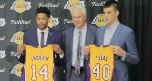 Brandon Ingram Ivica Zubac Lakers