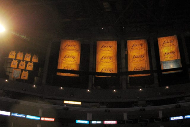 Lakers Banners