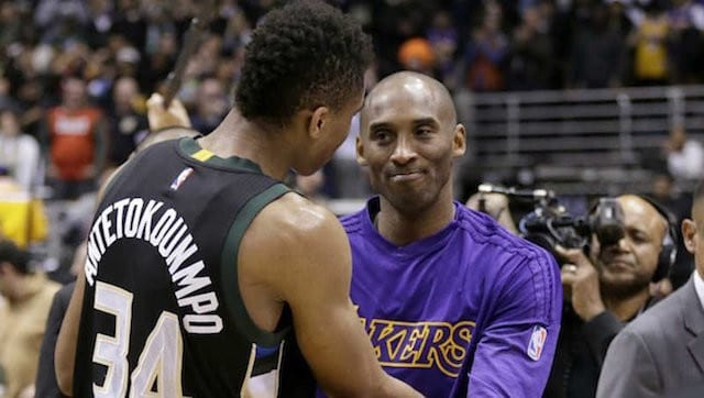 Kobe Bryant Giannis Antetokoumpo
