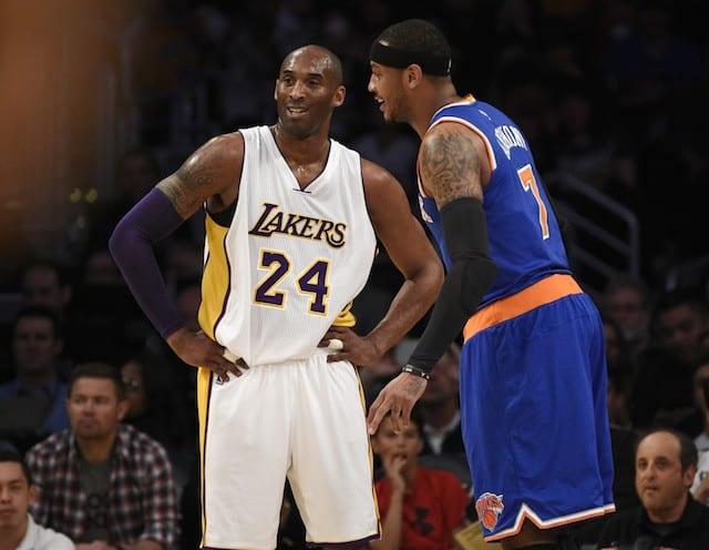 Kobe Bryant Carmelo Anthony