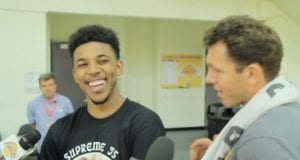 Nick Young Luke Walton Lakers