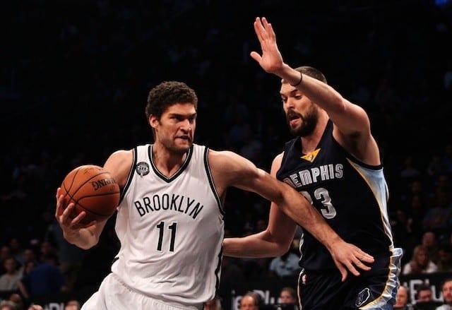 Brook Lopez, Marc Gasol, Nets, Grizzlies