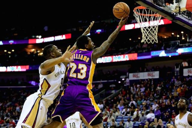 Lou Williams Lakers