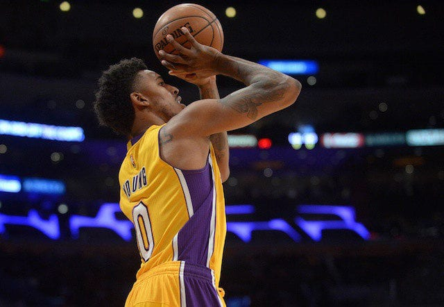 Nick Young Lakers