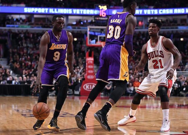 Luol Deng Julius Randle Lakers