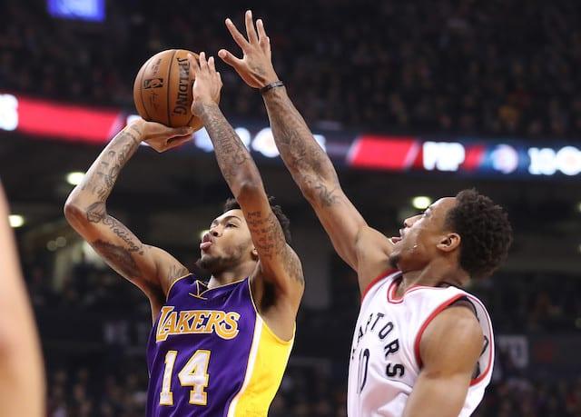 Brandon Ingram, Lakers, Raptors