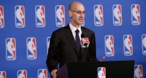 Adam Silver NBA Lakers