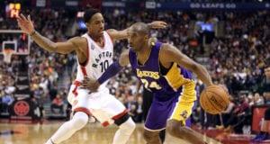 DeMar DeRozan, Kobe Bryant, Lakers, Raptors