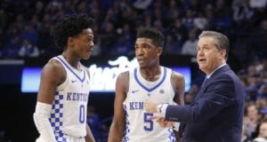 De'Aaron Fox Malik Monk Kentucky Lakers