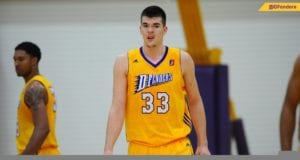 Ivica Zubac Lakers D-Fenders
