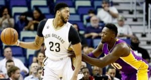 Anthony Davis, Julius Randle, Pelicans, Lakers