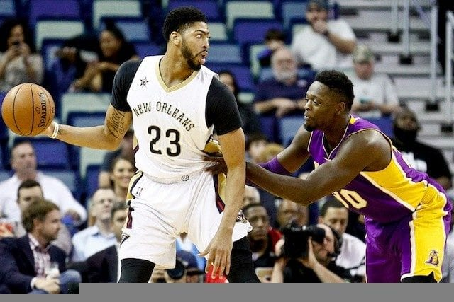 Anthony Davis, Julius Randle, Pelicans, Lakers