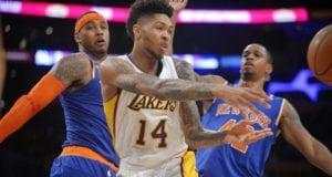 Brandon Ingram Lakers Knicks
