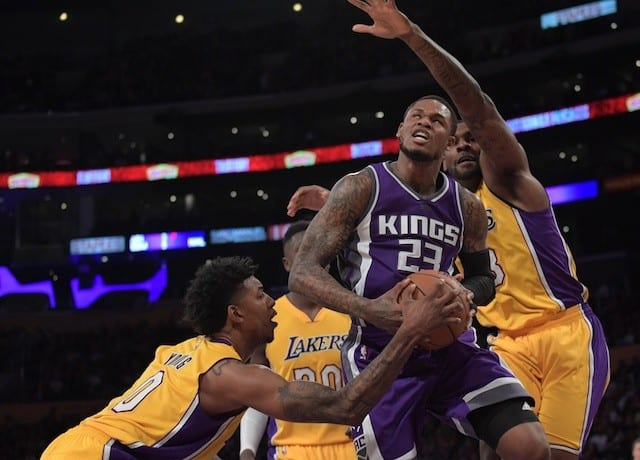 Nick Young, Lakers, Kings