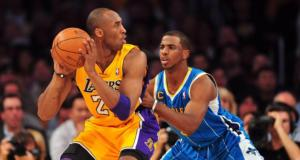 Kobe Bryant Chris Paul Lakers Hornets