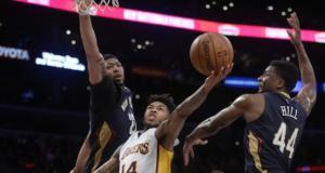 Brandon Ingram, Anthony Davis Lakers Pelicans