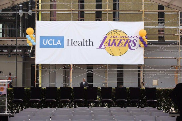 Lakers UCLA Health Training Center