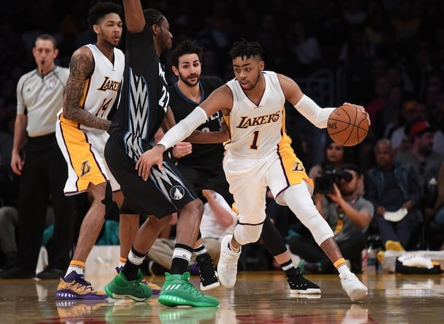 D'Angelo Russell, Lakers