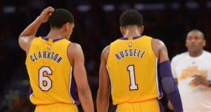 Jordan Clarkson D'Angelo Russell Lakers
