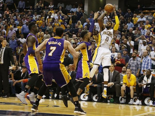 Paul George, Lakers, Pacers