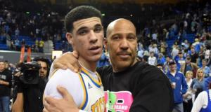Lonzo Ball, UCLA, LaVar Ball Lakers