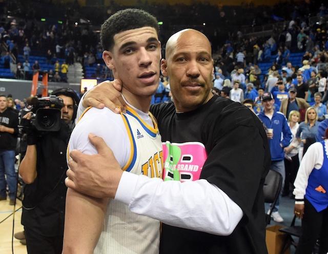 Lonzo Ball, UCLA, LaVar Ball Lakers