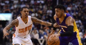 D'Angelo Russell Tyler Ulis Lakers Suns