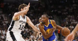 Pau Gasol Kevin Durant Spurs Warriors