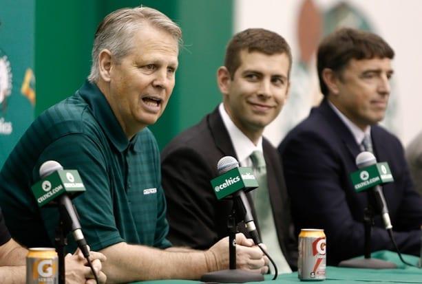 Danny Ainge Brad Stevens Celtics