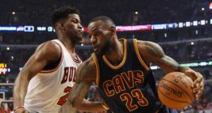 Jimmy Butler LeBron James Bulls Cavaliers