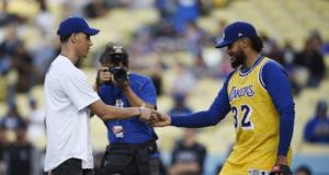 Kenley Jansen Lonzo Ball Lakers Dodgers