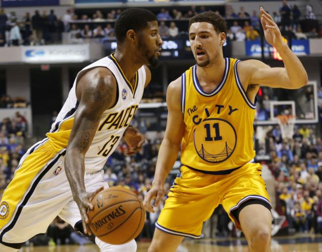 94841759c00 Lakers Rumors  Paul George Reached Out To Klay Thompson About Playing  Together In L.A. - Lakers Nation