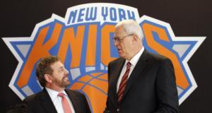 Phil Jackson James Dolan Knicks