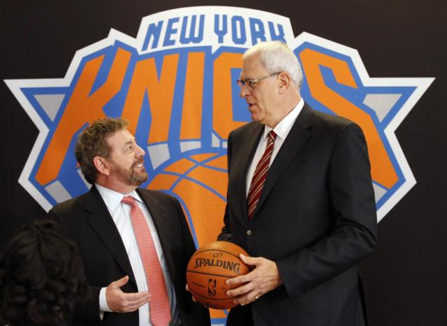 Phil Jackson James Dolan Knicks