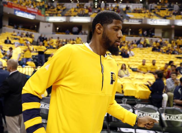 Paul George, Pacers Lakers