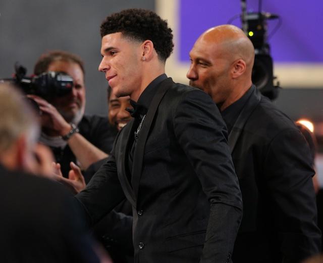 Lonzo Ball, LaVar Ball, Lakers, NBA Draft