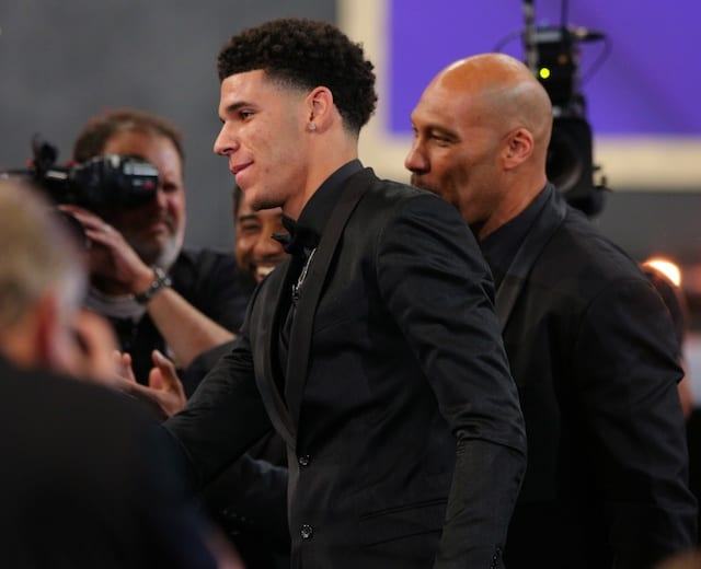 LaVar Ball Blames Lakers' Trainer for Lonzo's Injuries