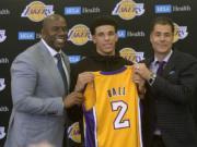 Magic Johnson, Lakers, Lonzo Ball, Rob Pelinka