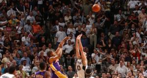 Derek Fisher Robert Horry Kobe Bryant Lakers Spurs