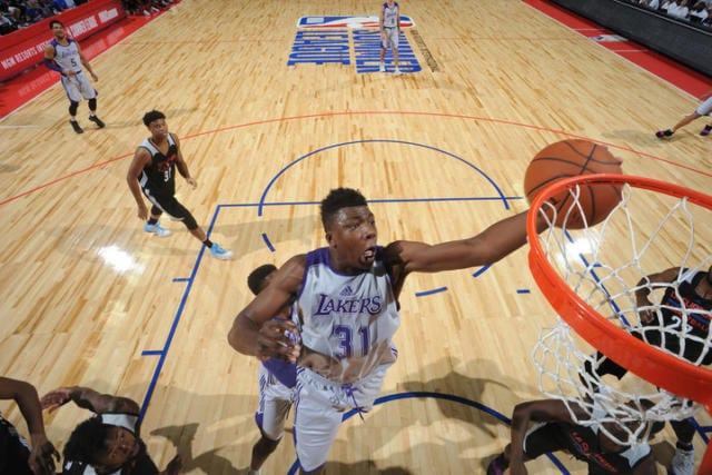 Thomas Bryant Lakers Summer League