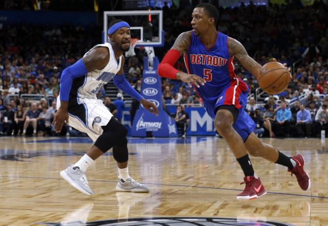 Kentavious Caldwell-Pope Pistons Lakers