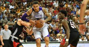 Kyle Kuzma Lakers Summer League
